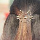 2 colors women hair clip