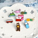 8pcs cute kids brooch jewelry pin