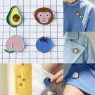 4pcs cute kids brooch jewelry pin