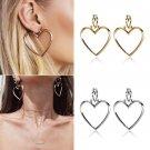 Women heart earring