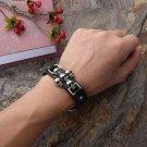 men skull bracelet