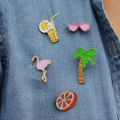 5pcs cute kids brooch jewelry pin