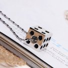 men women dice necklace