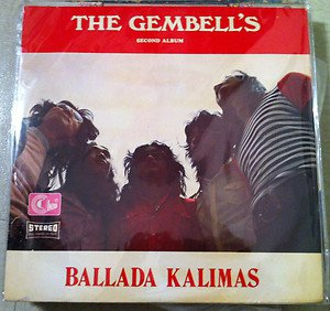 THE GEMBELL'S LP ballada kalimas 2nd AKA RARE INDONESIA PSYCH FUNK BREAK
