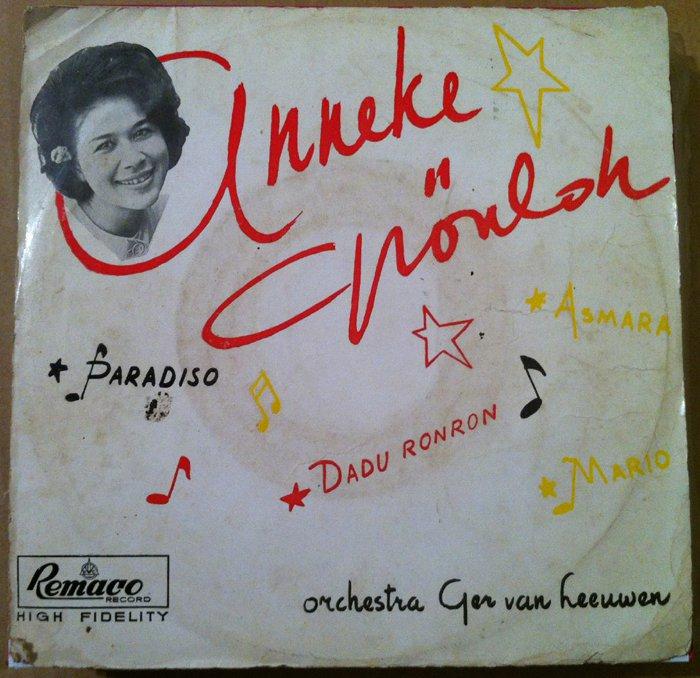 ANNEKE GRONLOH 45 EP dadu ronron RARE INDONESIA 60's REMACO mp3 LISTEN*