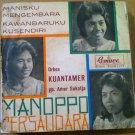 MANOPPO BERSAUDARA 45 EP manisku RARE INDONESIA 60's REMACO mp3 LISTEN*