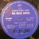 IRA MAYA SOPHA LP country pop RARE PROMO INDONESIA