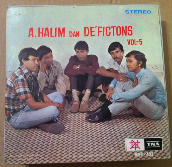 A HALIM dan DE'FICTIONS 45 EP vol. 5 RARE MALAYSIA 60's BEAT GARAGE mp3