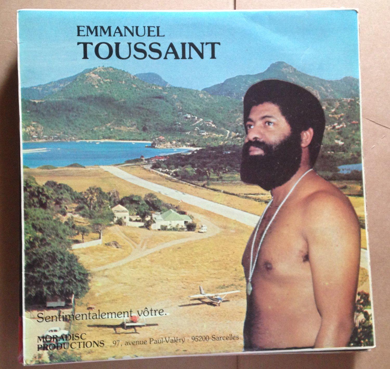 EMMANUEL TOUSSAINT LP sentimentalement votre WEST INDIES CARIBBEAN