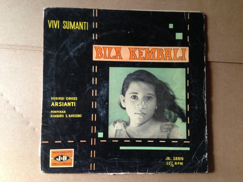 "VIVI SUMANTI & BAND ARSIANTI 10"" bila kembali 60's GARAGE INDONESIA mp3 LISTEN*"