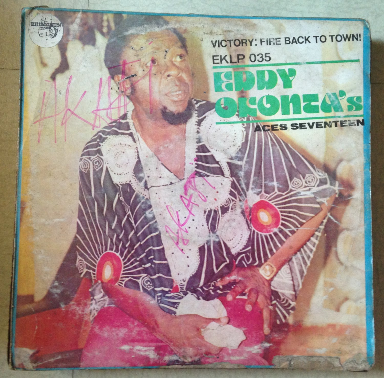 EDDY OKONTA'S ACES SEVENTEEN LP victory DEEP HIGHLIFE mp3 LISTEN