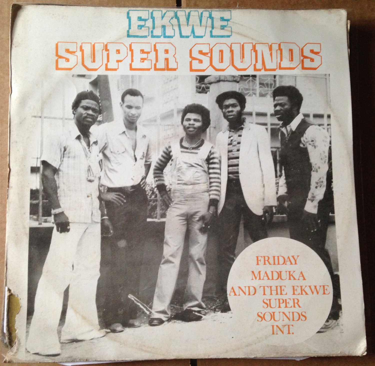 FRIDAY MADUKA & EKWE SUPER SOUNDS LP same NIGERIA HIGHLIFE mp3 LISTEN