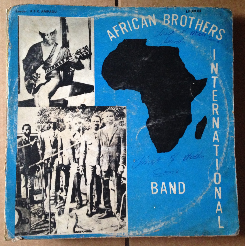 AFRICAN BROTHERS INTERNATIONAL BAND LP baabi GHANA HIGHLIFE mp3 LISTEN