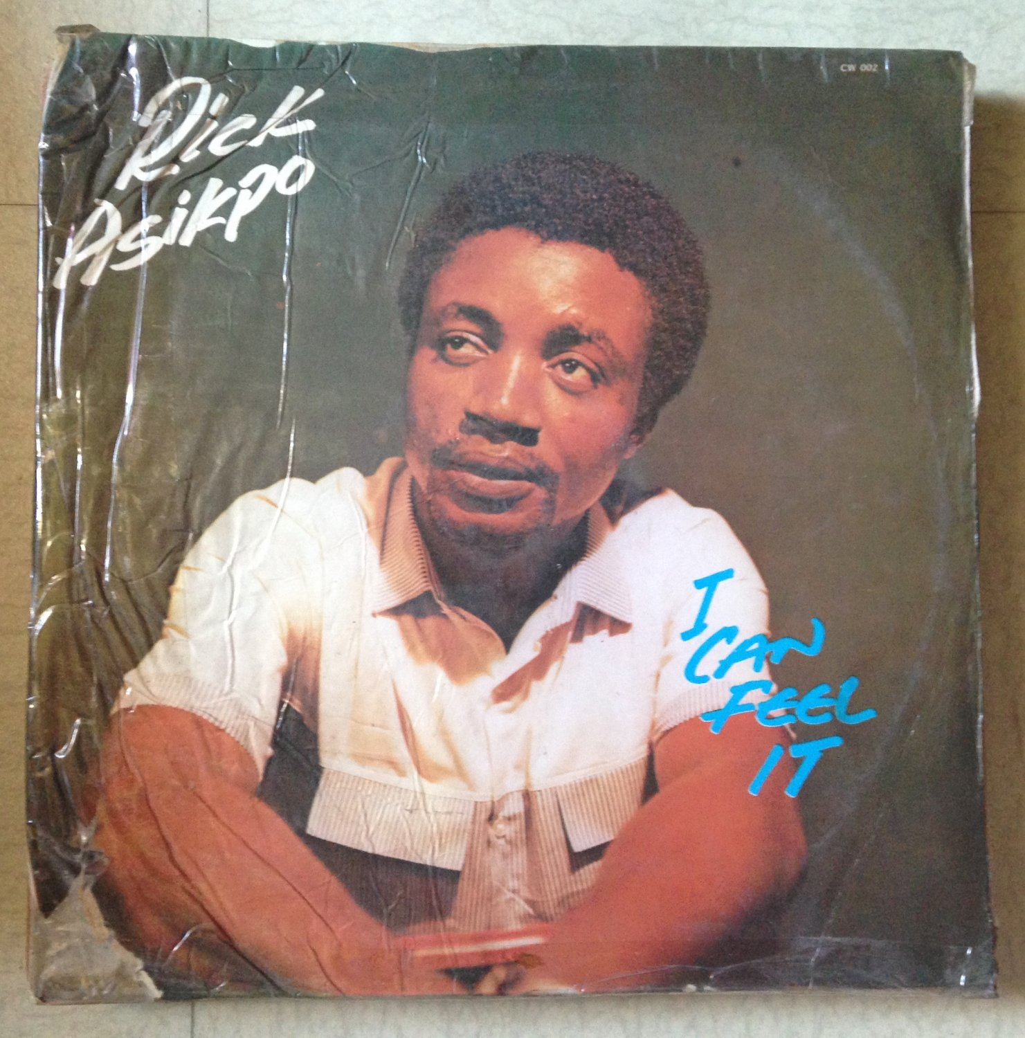 RICK ASIKPO LP i can feel it AFRO BOOGIE DISCO NIGERIA mp3 LISTEN