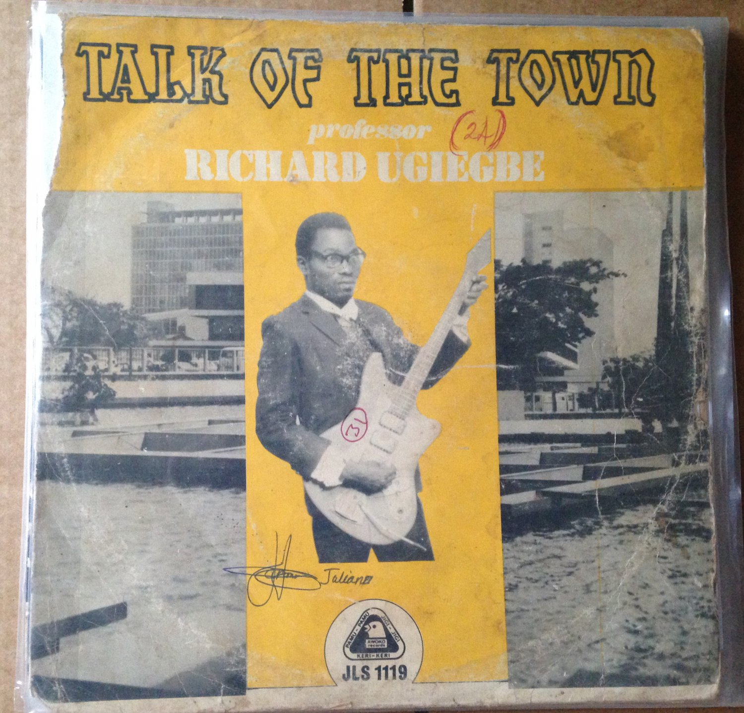 PROFESSOR RICHARD UGIEGBE LP talk of the town HIGHLIFE mp3 LISTEN