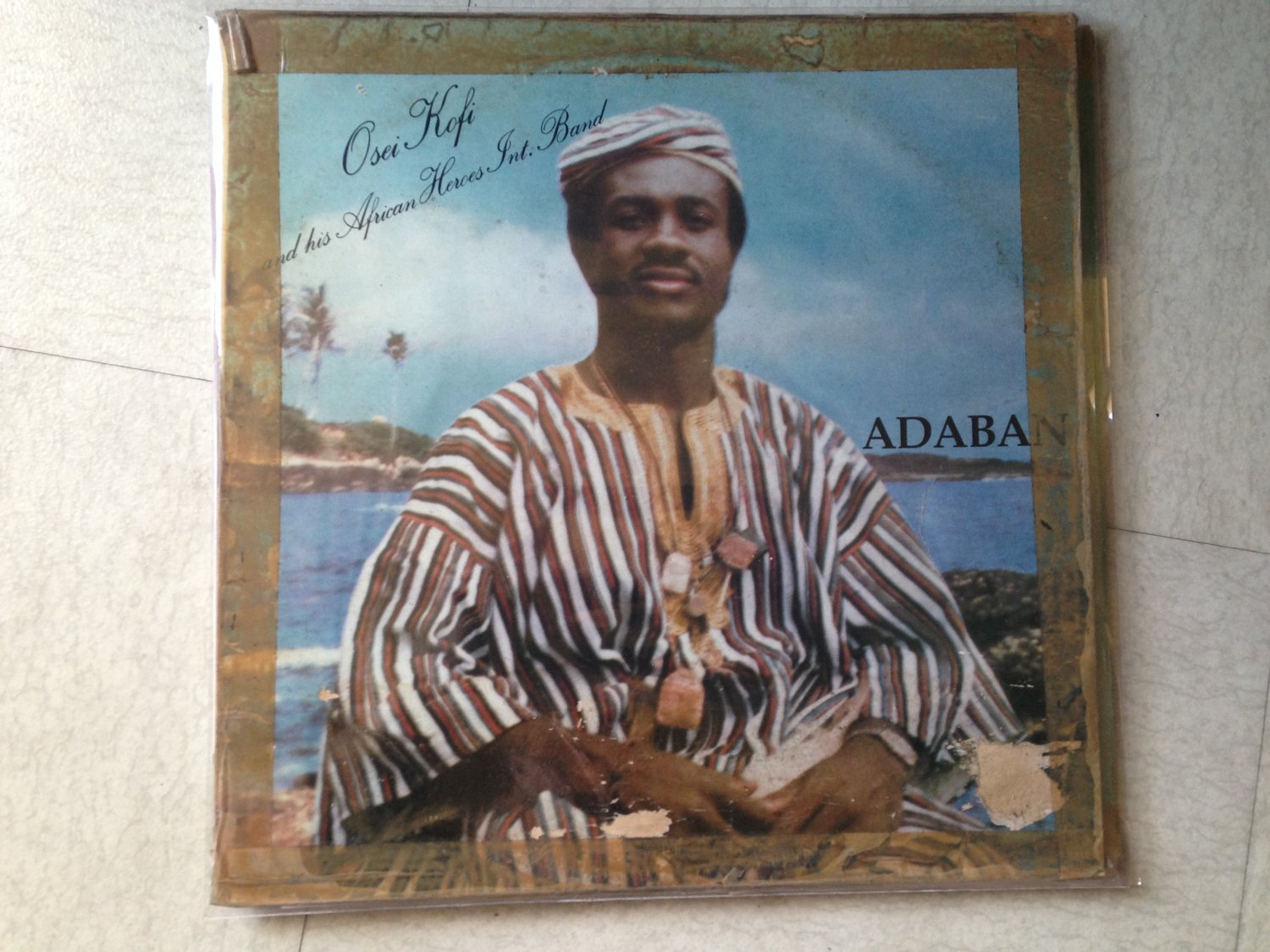OSEI KOFI & HIS AFRICAN HEROES INT BAND LP adaban GHANA mp3 LISTEN