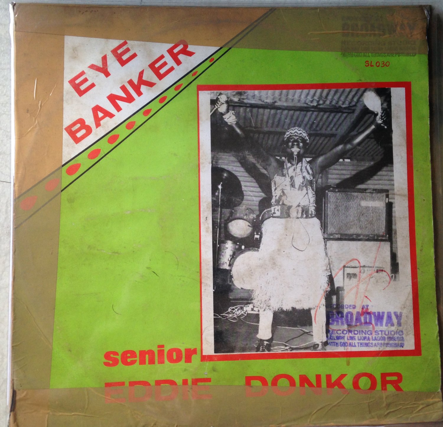 SENIOR EDDIE DONKOR & INT BAND OF GHANA LP eye banker GHANA mp3 LISTEN