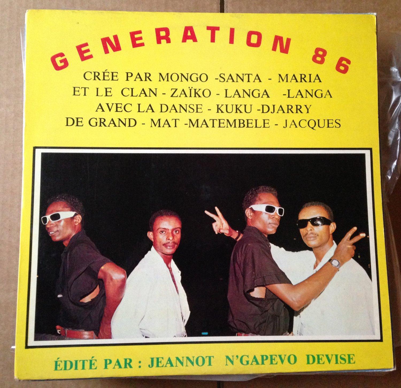 GENERATION 86 LP caina ZAIKO LANGA SOUKOUS CONGO mp3 LISTEN