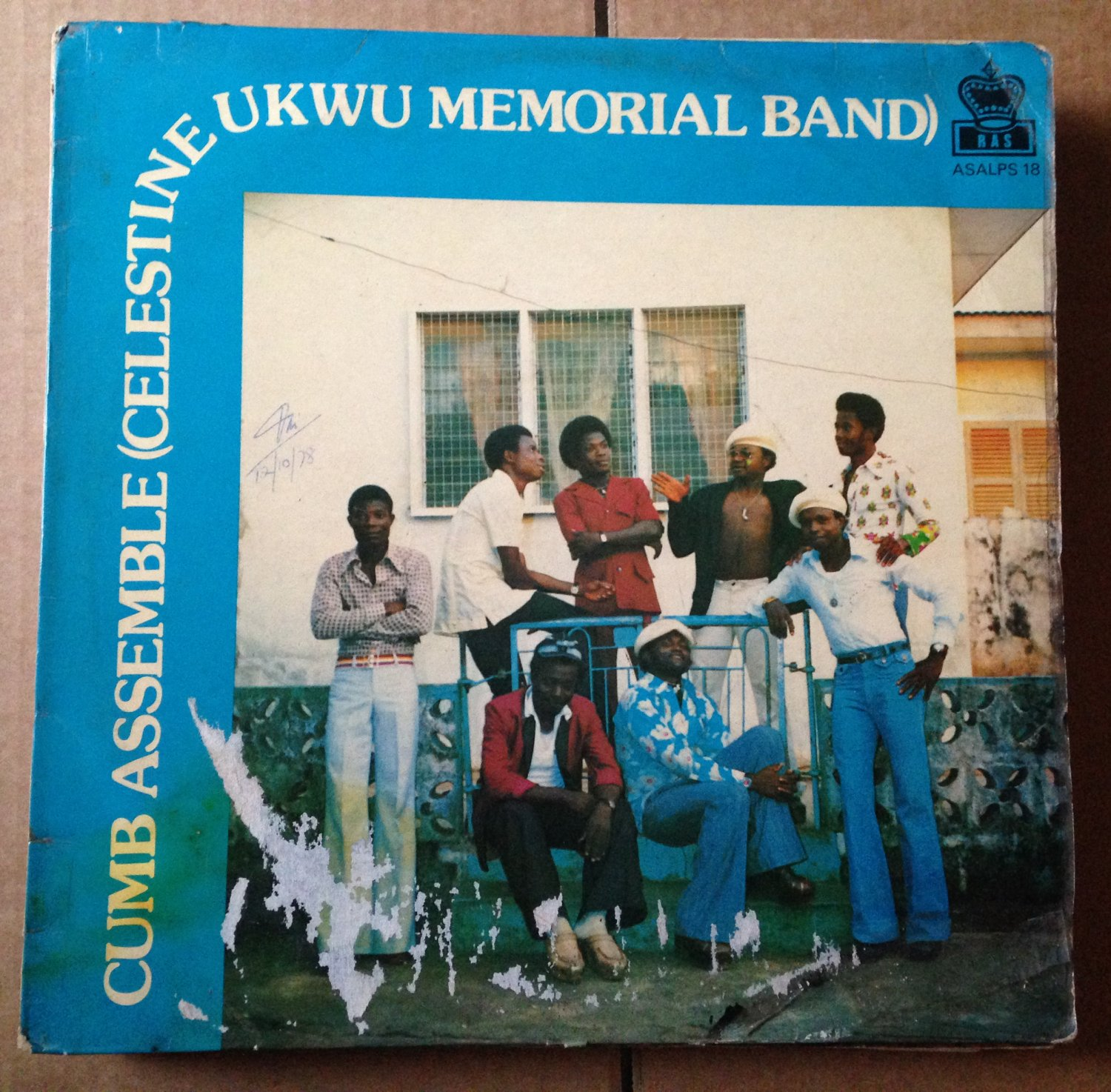 CUMB ASSEMBLE (CELESTINE UKWU MEMORIAL BAND) LP tribute NIGERIA mp3 LISTEN