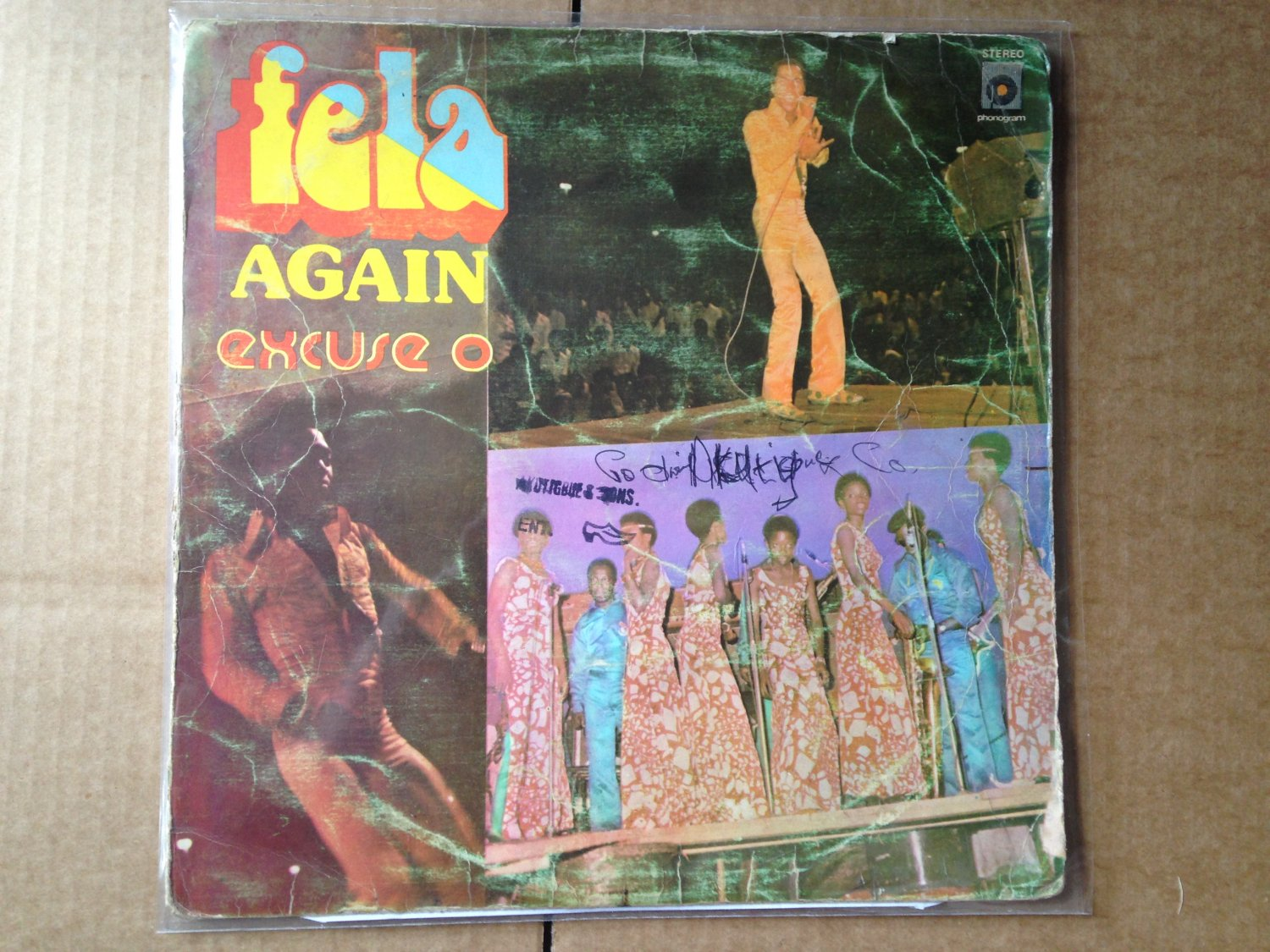 FELA LP excuse o  AFRO BEAT NIGERIA mp3 LISTEN