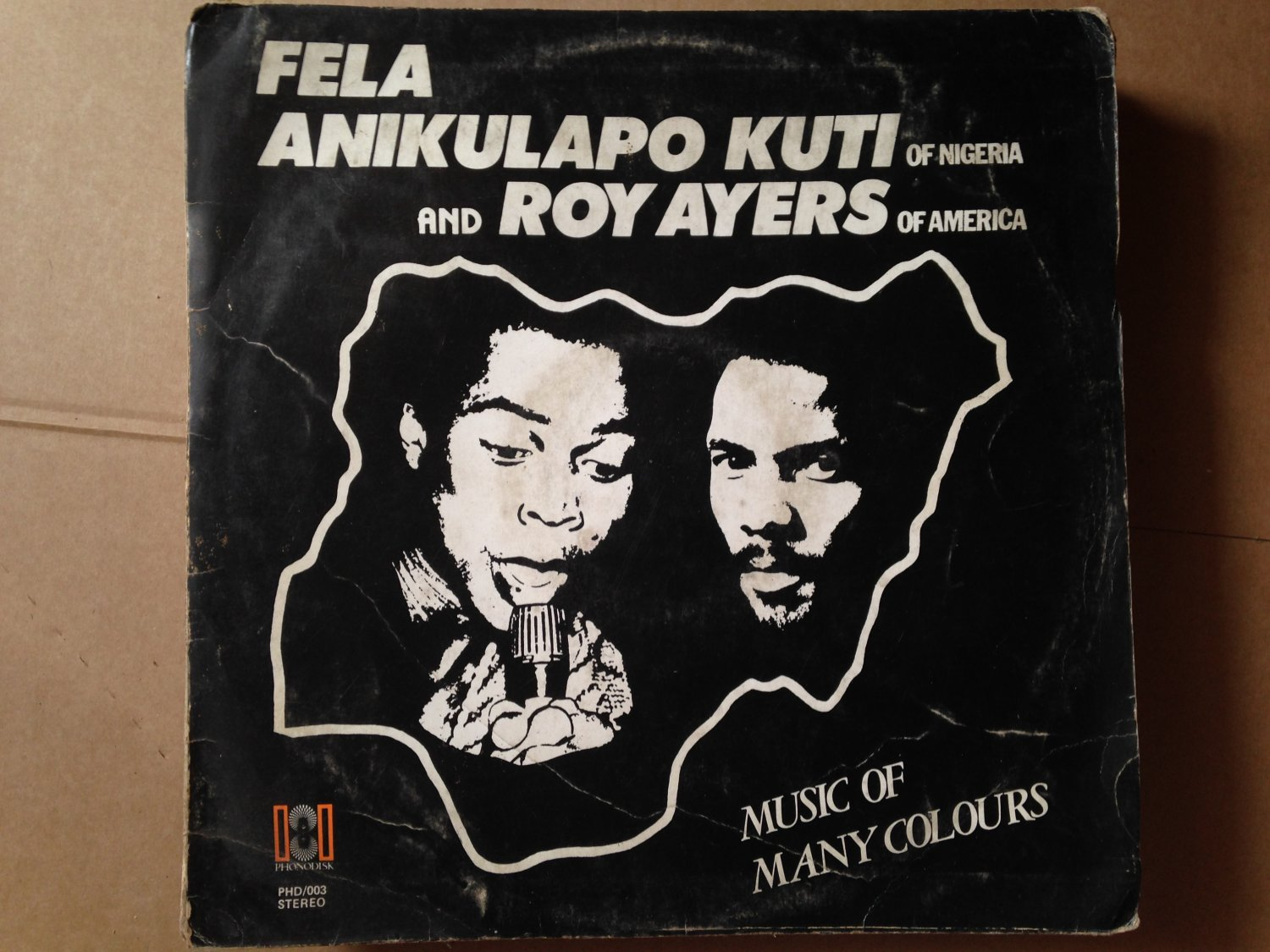 FELA & ROY AYERS LP music of many colors NIGERIA AFRO BEAT AFRO FUNK mp3 LISTEN