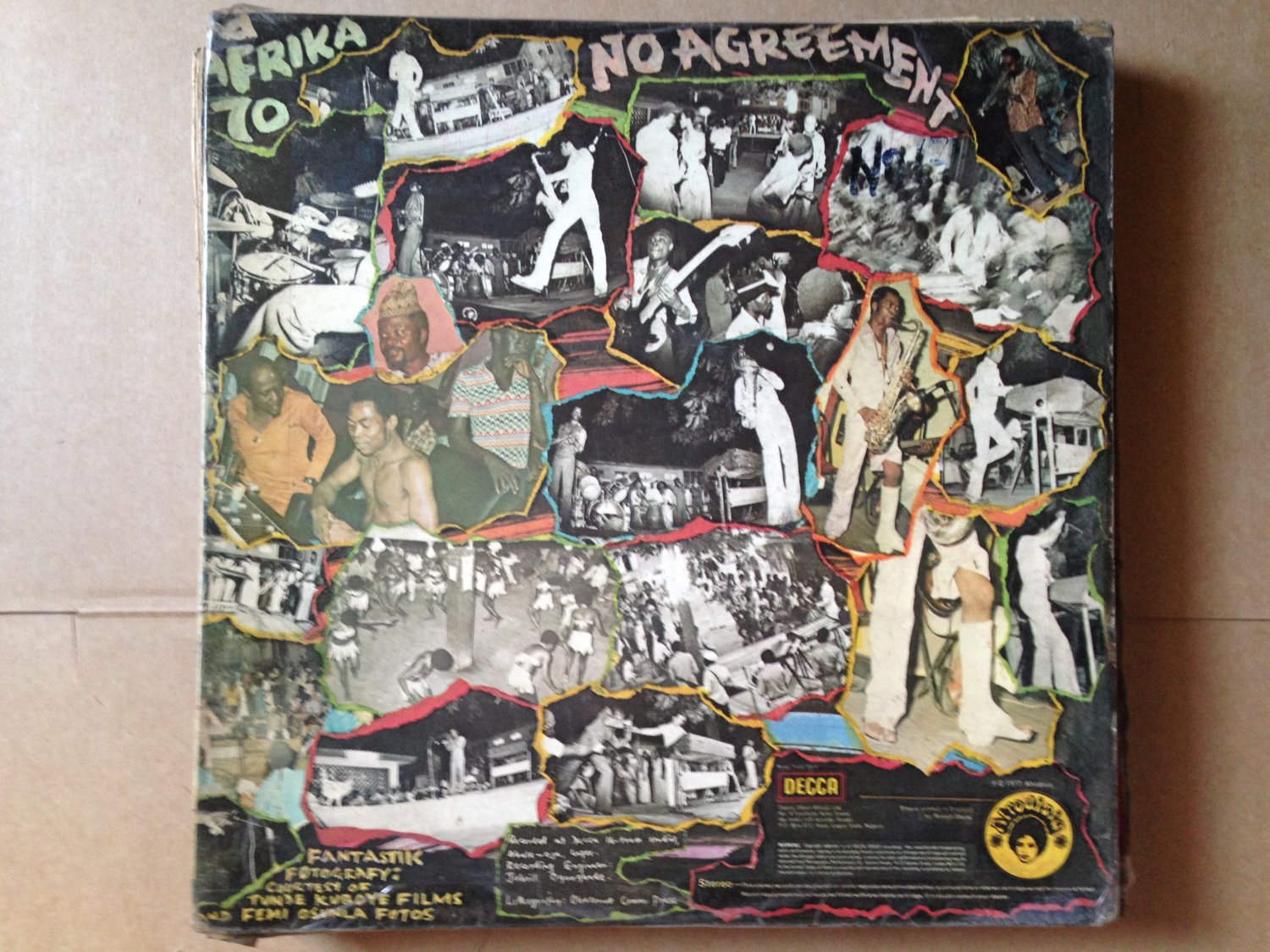 FELA KUTI LP no agreement AFRO BEAT NIGERIA mp3 LISTEN