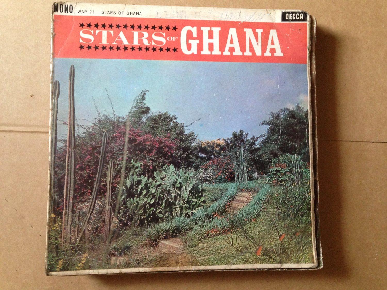 STARS OF GHANA LP DEEP HIGHLIFE BLACK BEATS STARGAZER ET MENSAH mp3 LISTEN