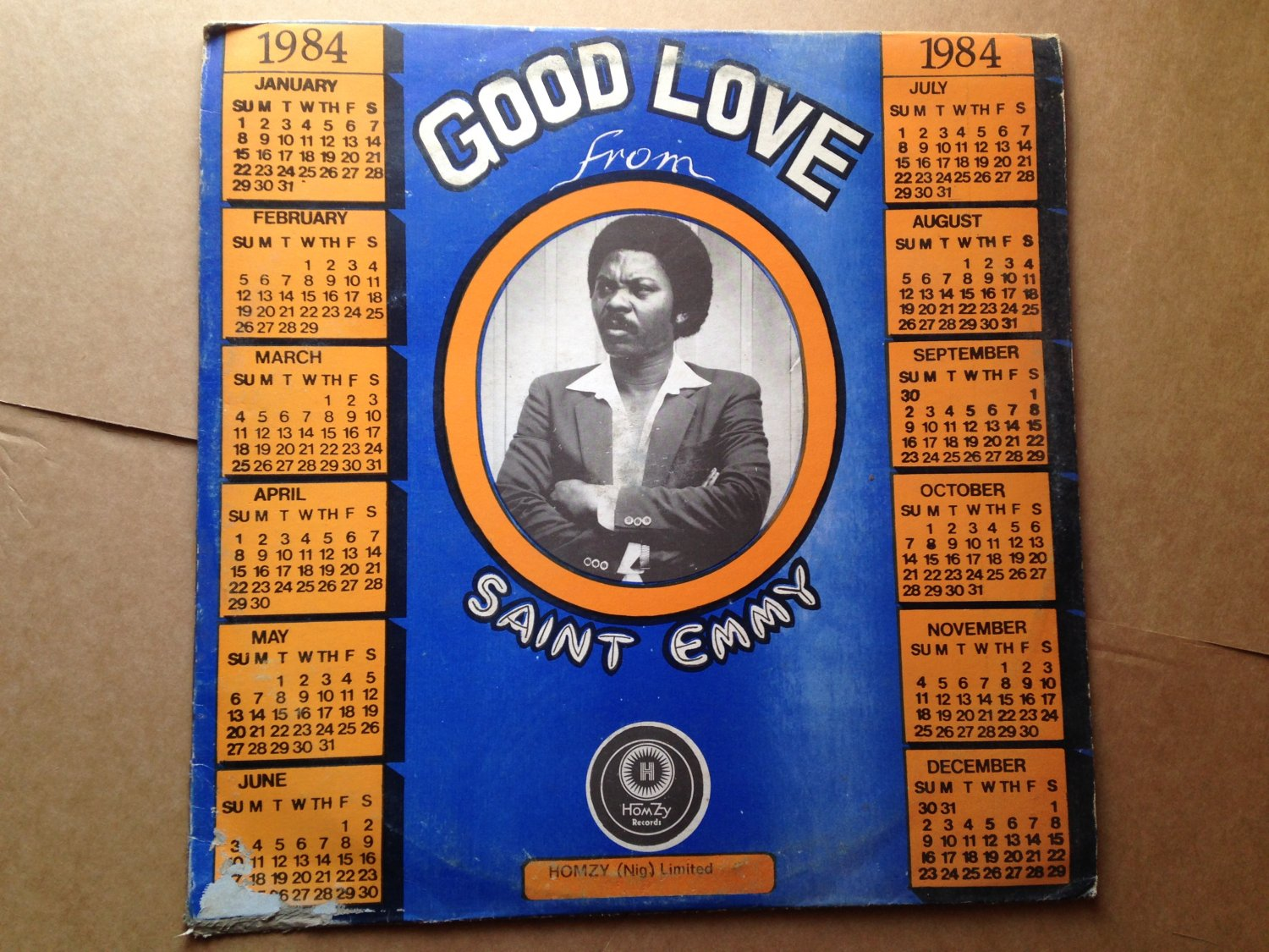 SAINT EMMY LP good good love AFRO COSMIC DISCO FUNK NIGERIA mp3 LISTEN