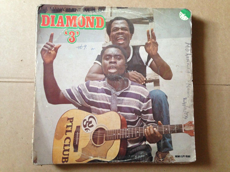 DIAMOND 3 LP na management GHANA HIGHLIFE DANCEFLOOR FULL oF DRUM BREAKS mp3 LISTEN