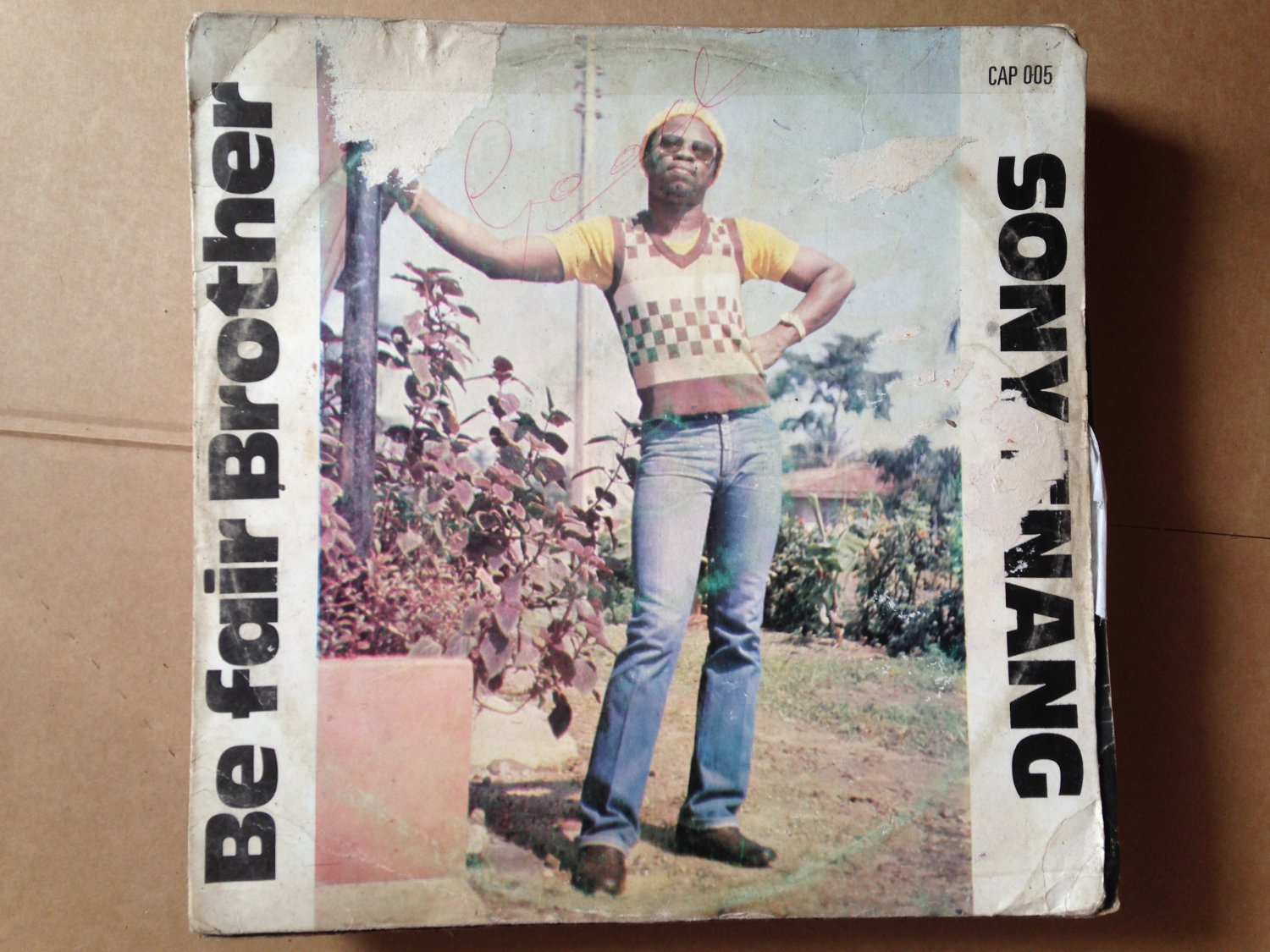 SONNY ENANG LP be fair brother AFRO REGGAE NIGERIA mp3 LISTEN