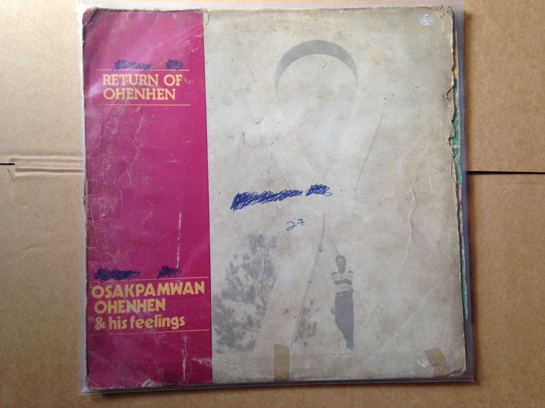 OSAKPAMWAN OHENEN & HIS FEELING LP return of Ohenhen NIGERIA mp3 LISTEN