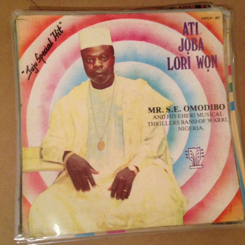 A.S. ESEDUWO & EHERI MUSICAL THRILLER BAND LP ati joba lori won NIGERIA mp3 LISTEN