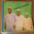 FASHOLA BAKARE & THE MUSIC MAKERS LP vol. 8 NIGERIA JUJU mp3 LISTEN