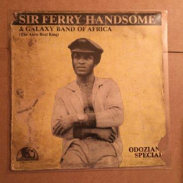SHOW BOY FERRY HANDSOME & GALAXY BAND LP odozianu special NIGERIA