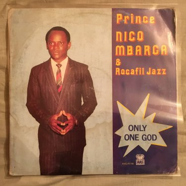 PRINCE NICO MBARGA & ROCAFILL JAZZ LP only one god NIGERIA mp3 LISTEN