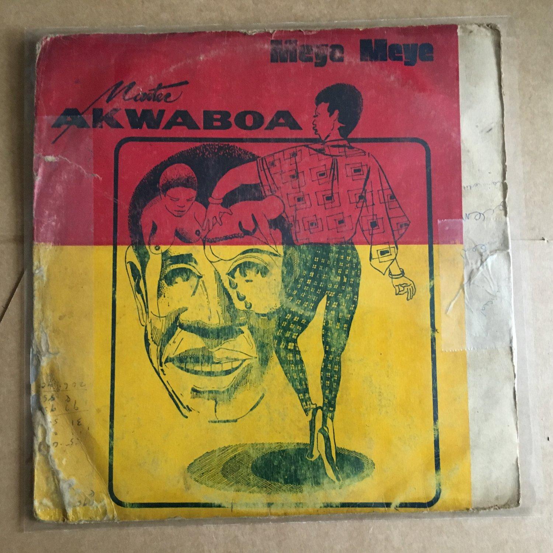 MASTER AKWABOA LP meye meye GHANA DEEP HIGHLIFE REGGAE mp3 LISTEN