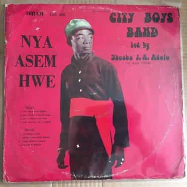 CITY BOYS BAND LP nya asem hwe GHANA AFRO BEAT AFRO FUNK HIGHLIFE mp3 LISTEN