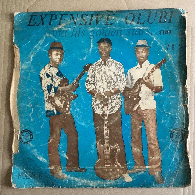 EXPENSIVE OLUBI & HIS GOLDEN STARS LP vol 2 NIGERIA NIGERIA mp3 LISTEN