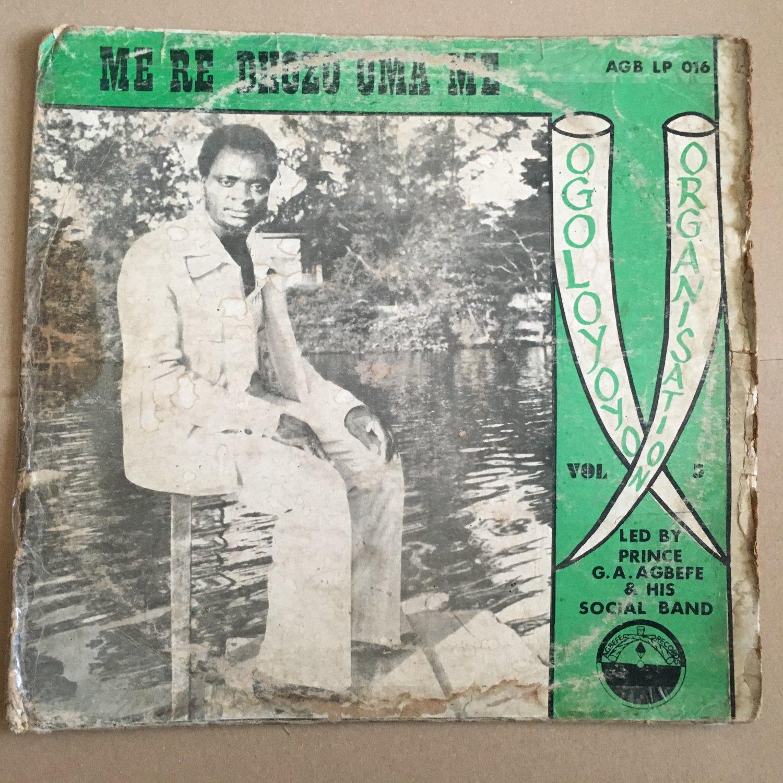 AGBEFE & HIS SOCIAL BAND LP me re dhozo uma me NIGERIA mp3 LISTEN