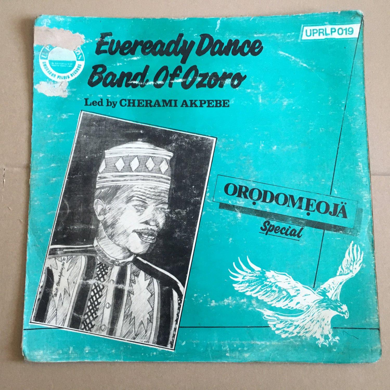 CHEMARI & EVEREADY BAND OF OZORO LP orodomeoja NIGERIA mp3 LISTEN