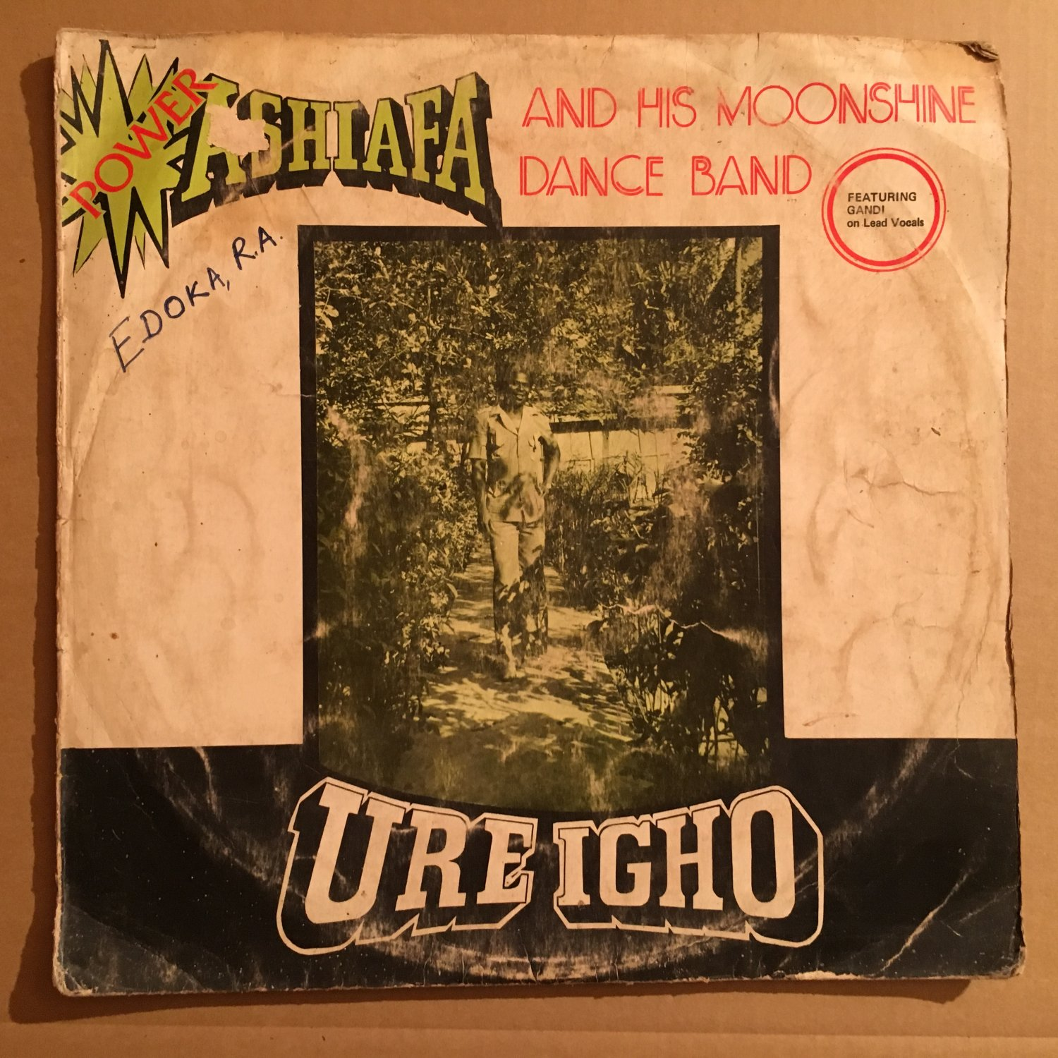 POWER ASHAFIA & HIS MOONSHINE DANCE BAND LP ure igho NIGERIA mp3 LISTEN