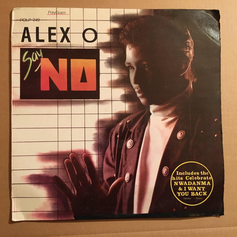 ALEX O LP say no NIGERIA MODERN SOUL FUNK mp3 LISTEN LEMMY JACKSON