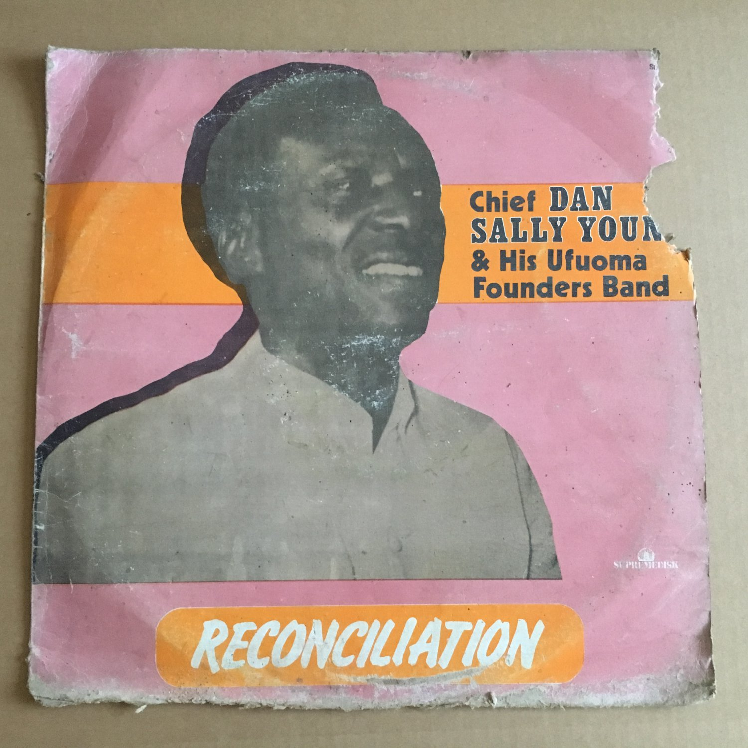CHIEF DAN SALLY YOUNG LP reconciliation AFRO BEAT HIGHLIFE NIGERIA mp3 LISTEN