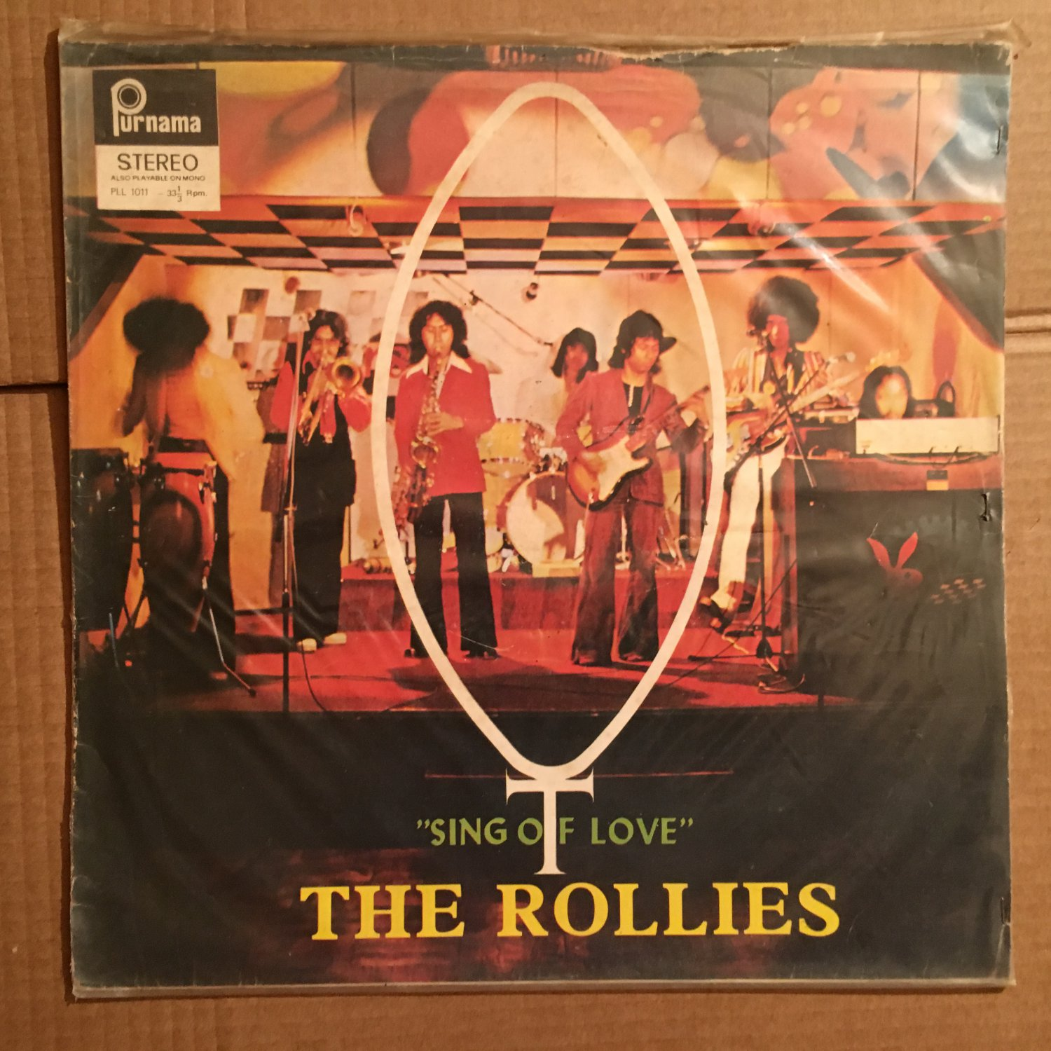 THE ROLLIES LP sing of love INDONESIA PSYCH FUNK mp3 LISTEN