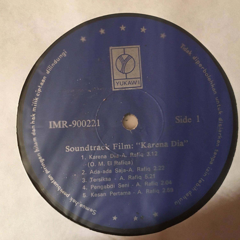 KARENA DIA LP soundtrack ost INDONESIA MELAYU mp3 LISTEN