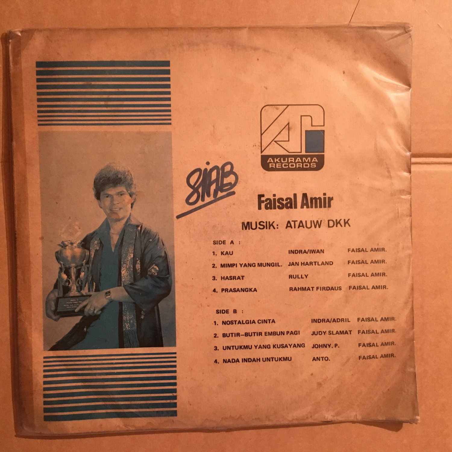 FAISAL AMIR LP same INDONESIA DISCO FUNK mp3 LISTEN