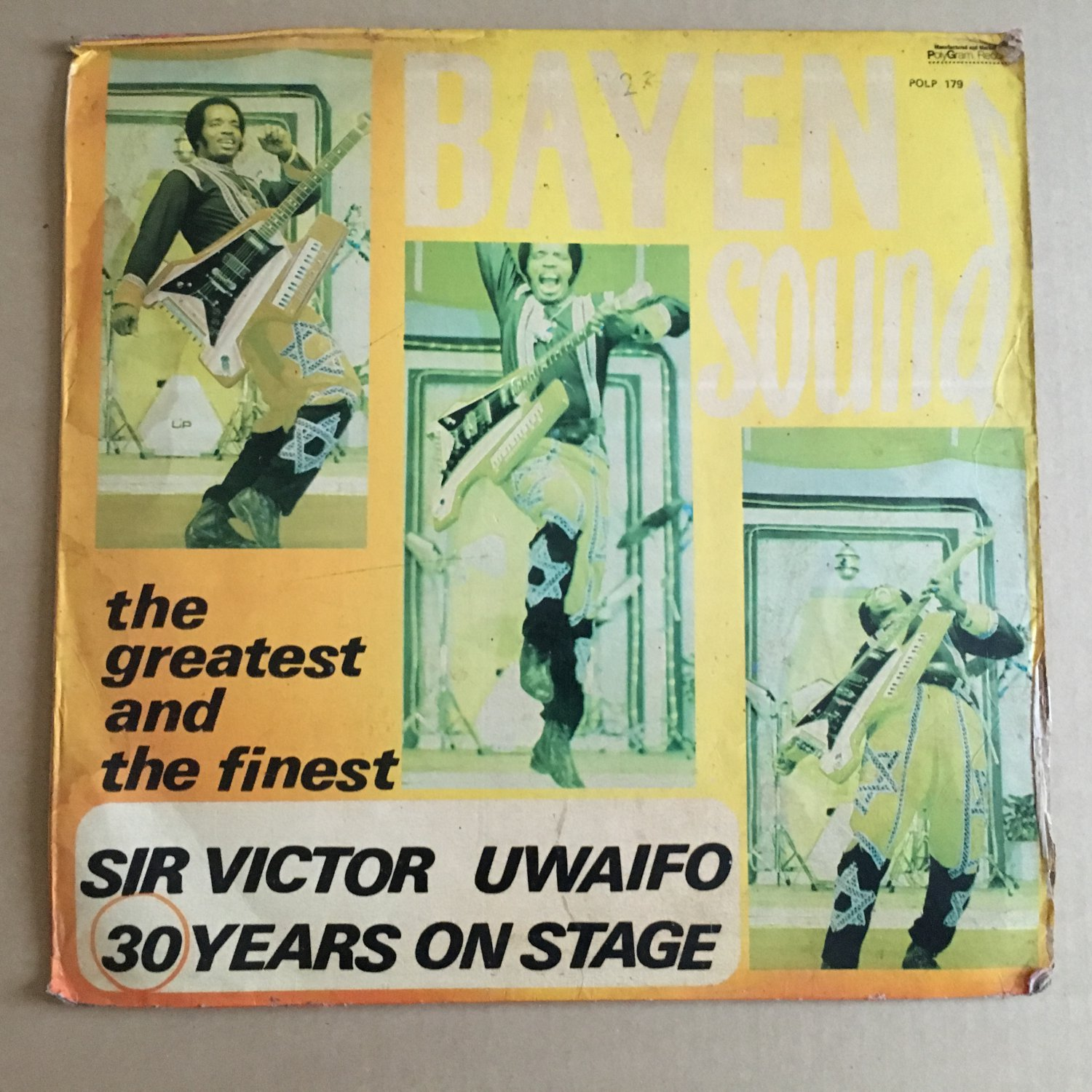 SIR VICTOR UWAIFO LP bayen sound NIGERIA mp3 LISTEN