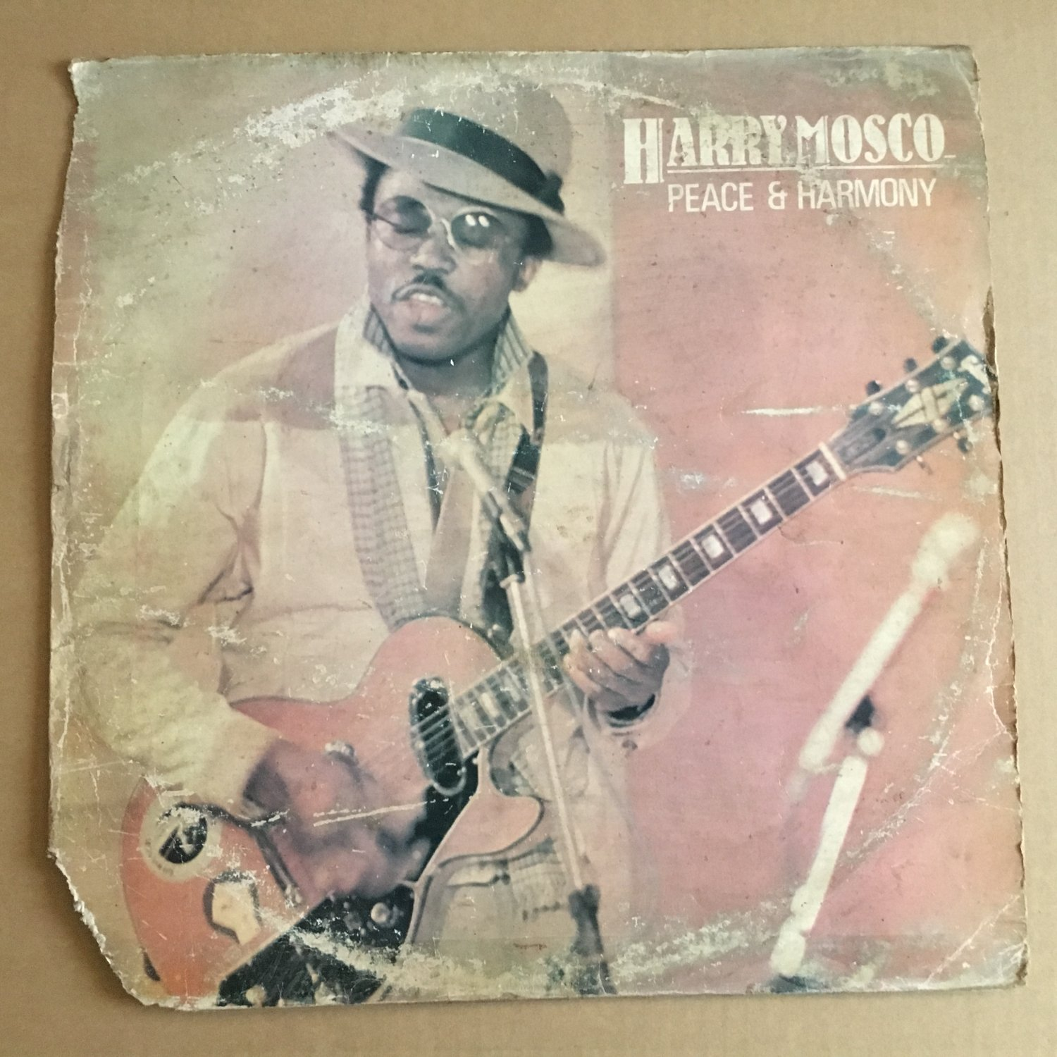 HARRY MOSCO LP peace & harmony AFRO FUNK DISCO REGGAE NIGERIA FUNKEES mp3 LISTEN