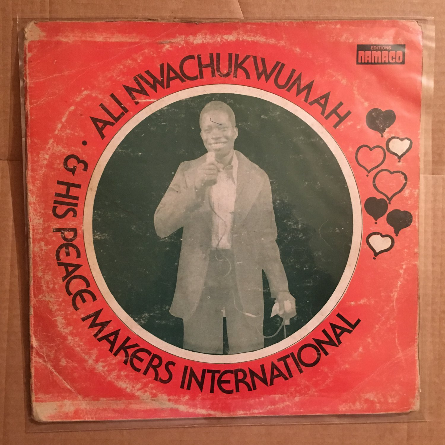ALI CHUKWUMA & HIS PEACE MAKERS LP music of good people DEEP HIGHLIFE NIGERIA mp3 LISTEN
