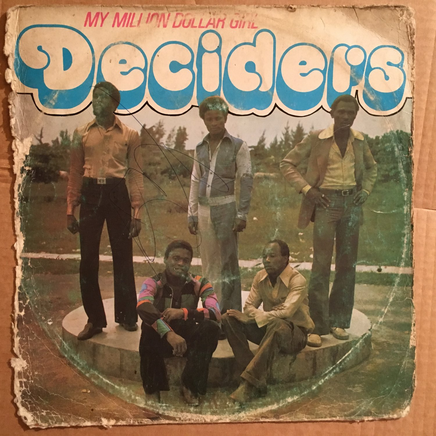 THE DECIDERS LP my million dollar girl REGGAE SOUL NIGERIA mp3 LISTEN